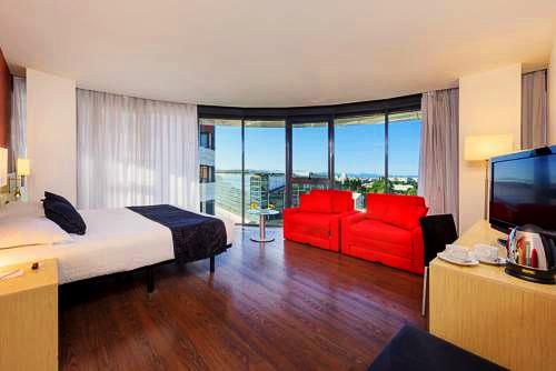 Sercotel Luz   Castellón de la Plana: hoteles y apartamentos